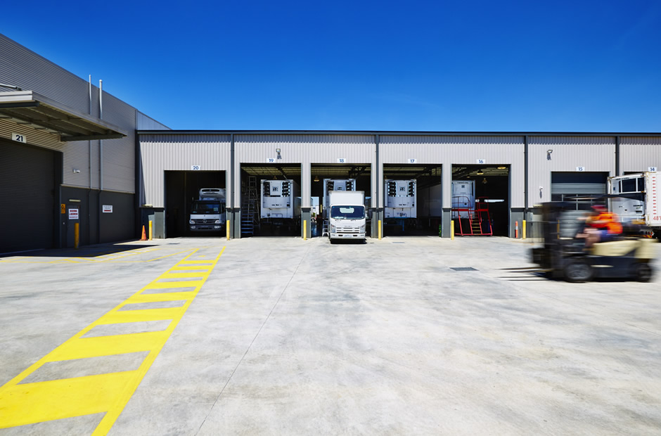 Truck Bays at Thermo King West (TK West)